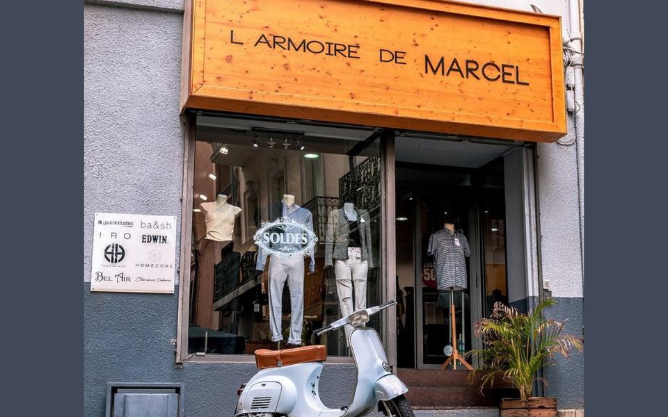 L'ARMOIRE DE MARCEL