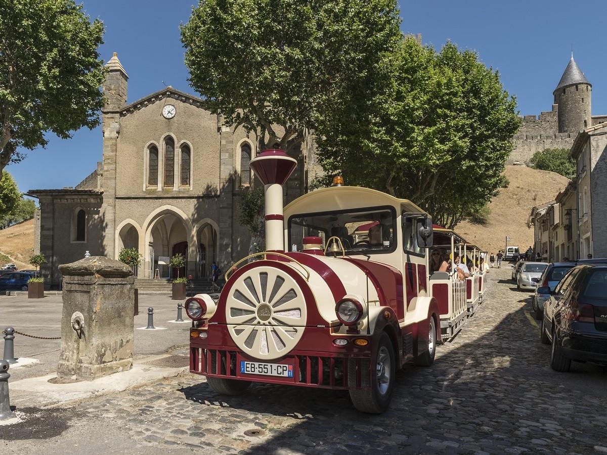 PETIT TRAIN DE LA CITE DE CARCASSONNE